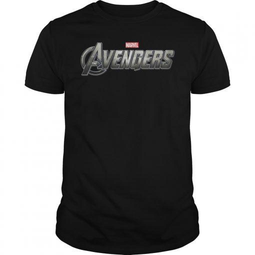 Avengers Endgame Circle Logo Graphic Shirt