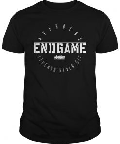 Avengers Endgame Circle Logo Graphic T-Shirt