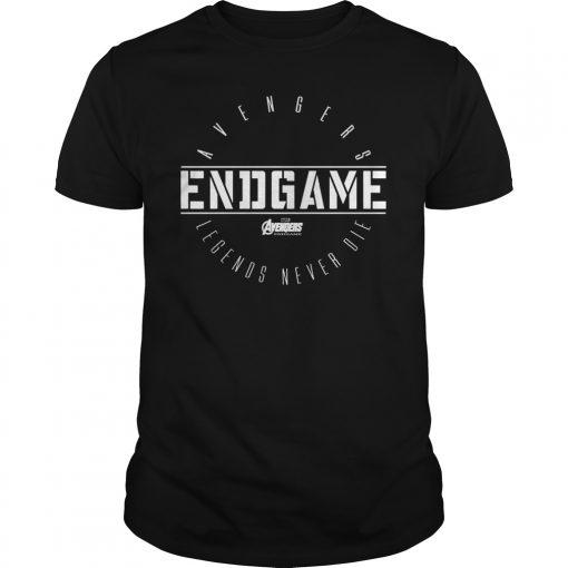 Avengers Endgame Circle Logo Graphic T-Shirt