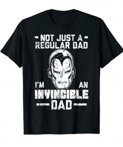 Iron Man Father's Day Not Regular Dad T-Shirt