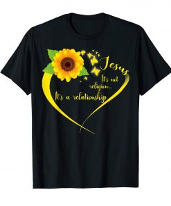It's A Relationship Sunflower T-Shirts