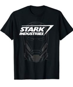 Marvel Avengers Iron Man Stark Industries Graphic T-Shirt