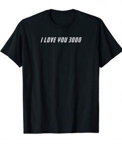 Men Classic I Love You 3000 T-shirt