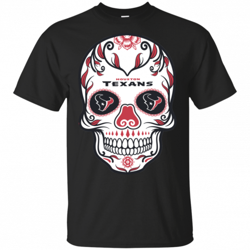 NFL Houston Texans Outdoor Skull T-Shirt