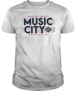 2019 NFL Draft Music City Nashville Classic T-Shirts