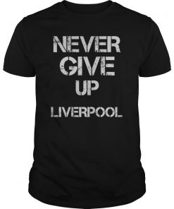 Chapion 2019# Never Give Up Mohamed Salah Tshirt