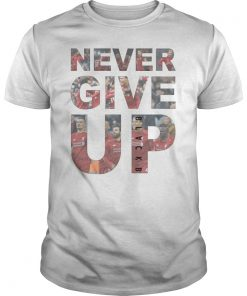 Chapion 2019 Shirt Never Give Up Mohamed Salah Tshirts