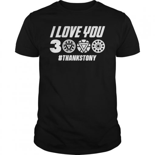 Dad Funny I Love You 3000 T-shirt