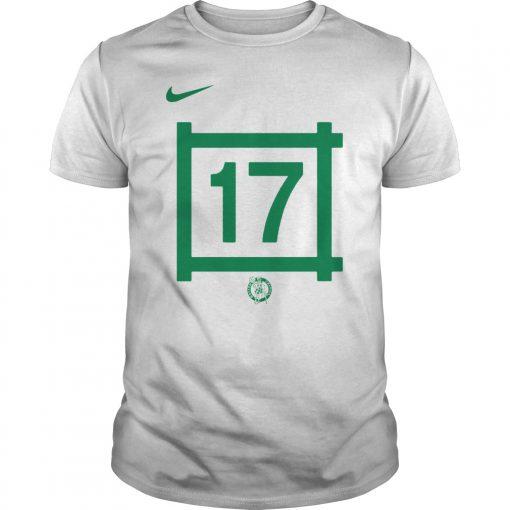 Fans, Boston Celtics 17 John Havlicek Classic Shirts