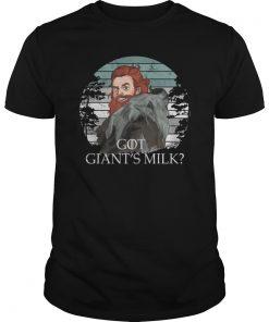 Got Giant's Milk Shirt