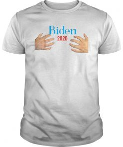 Hands Hugs Joe Biden 2020 Funny Election Classic T-Shirt