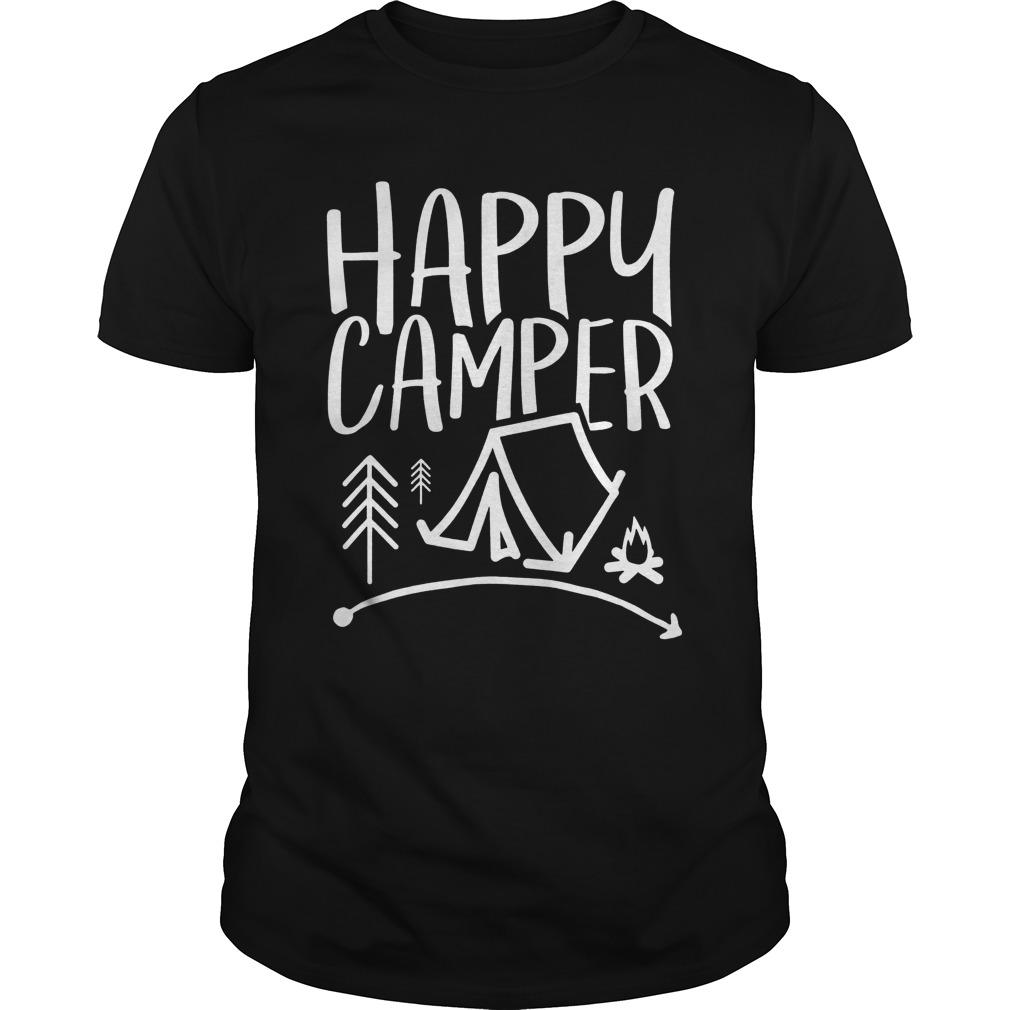 Camping T-Shirt For Men Women And Kids