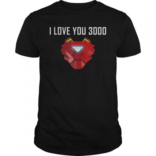 I Love You 3000 GIFT Father's Day T-shirt