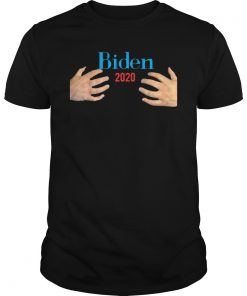 Joe Biden 2020 President Male Hands Hug Gift T-shirts