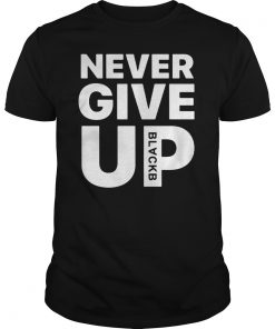 Liverpool Mo Salah Never Give Up BLACKB Limited Edition T-Shirt