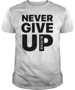 Mohamed Salah Never Give Up BLACKB T-Shirt