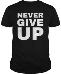 Mohamed Salah #Wore A Never Give Up T-Shirts
