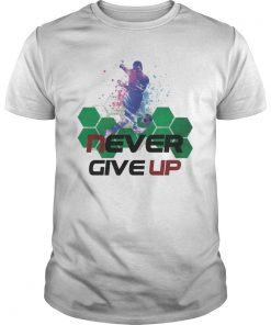Never Give Up Mohamed Salah #Chapion 2019 Tshirt