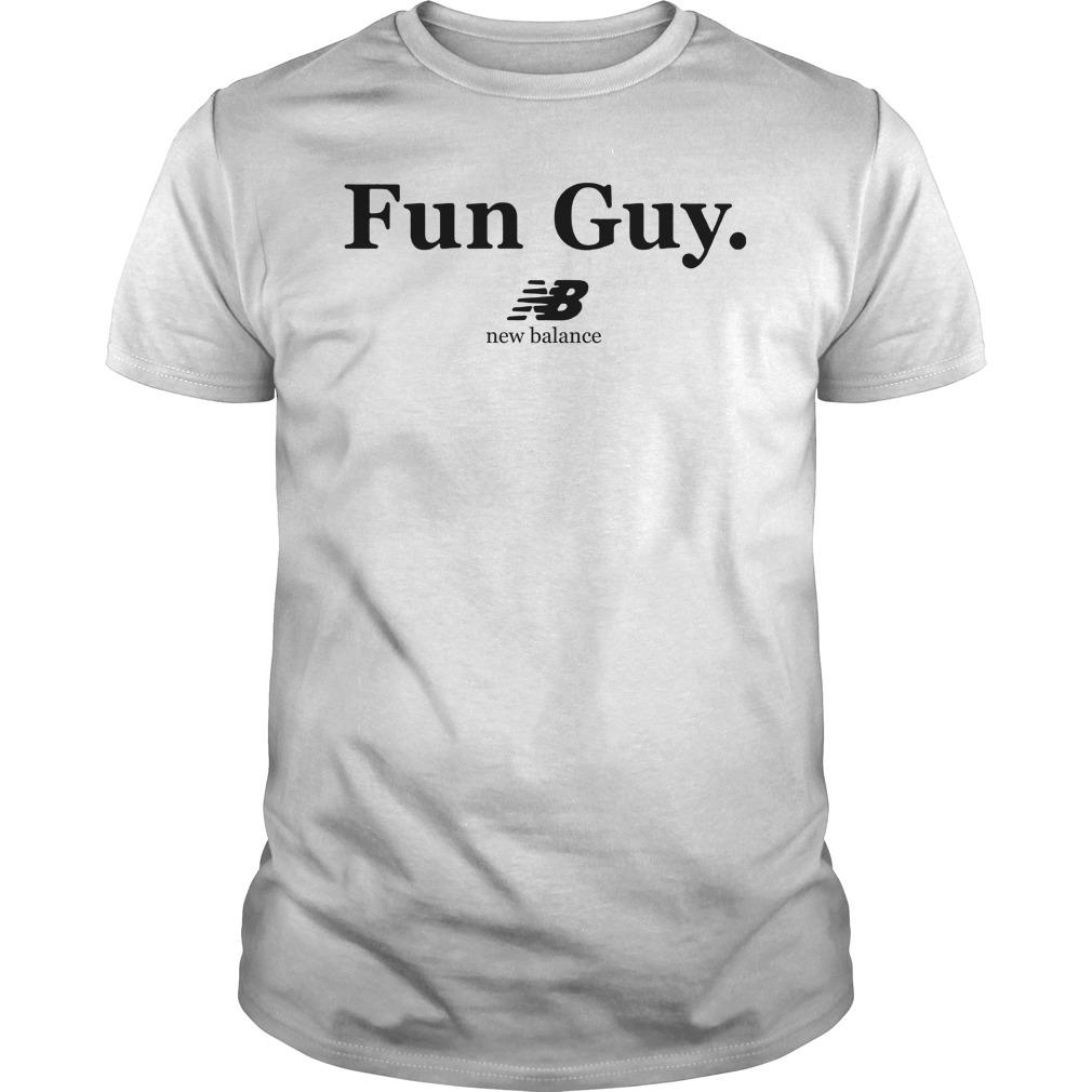 5c2aa106277 Guy New Balance Toronto Raptors Kawhi Leonard Fun T Shirt