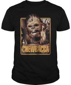 Star Wars Chewbacca Vintage Trading Card Retro T-Shirt