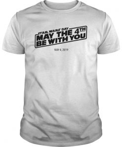 Star Wars Day May The 4th Be With You Simple Logo T-Shirt