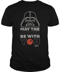 Star Wars May The Fourth Be With You 2019 Vader T-Shirt