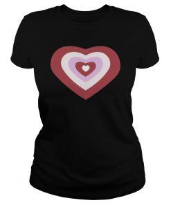 Tina Snow Powerpuff Girl Heart Light Pink Classic Women T-Shirt