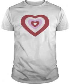 Tina Snow Powerpuff Girl Heart Light Tshirt