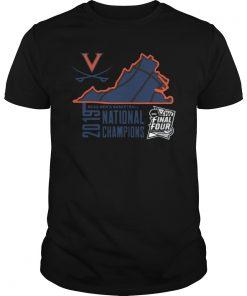 Virginia Cavaliers Fanatics Branded 2019 NCAA Men's Basketball National Champions T-Shirt