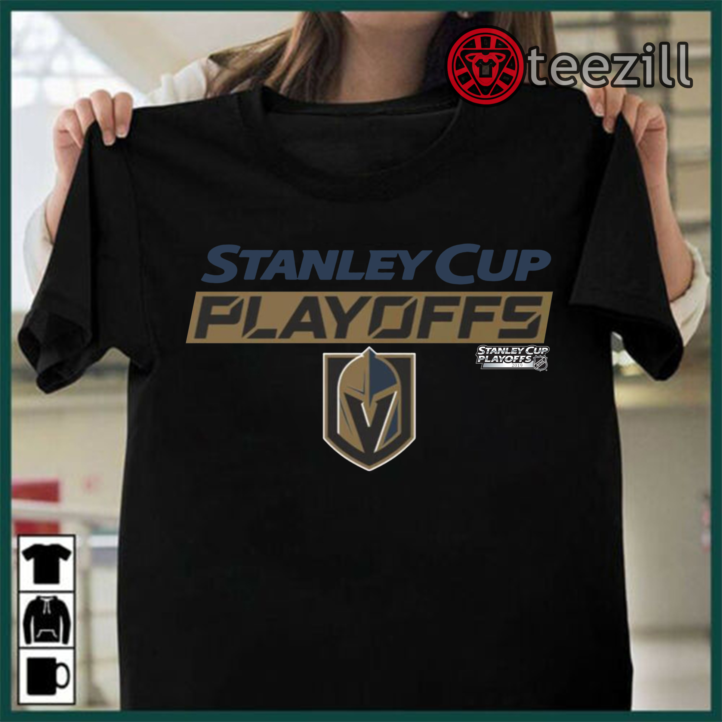 sale retailer 61bc9 fc800 Stanley Cup Playoffs Vegas Golden Knights 2019 Shirt