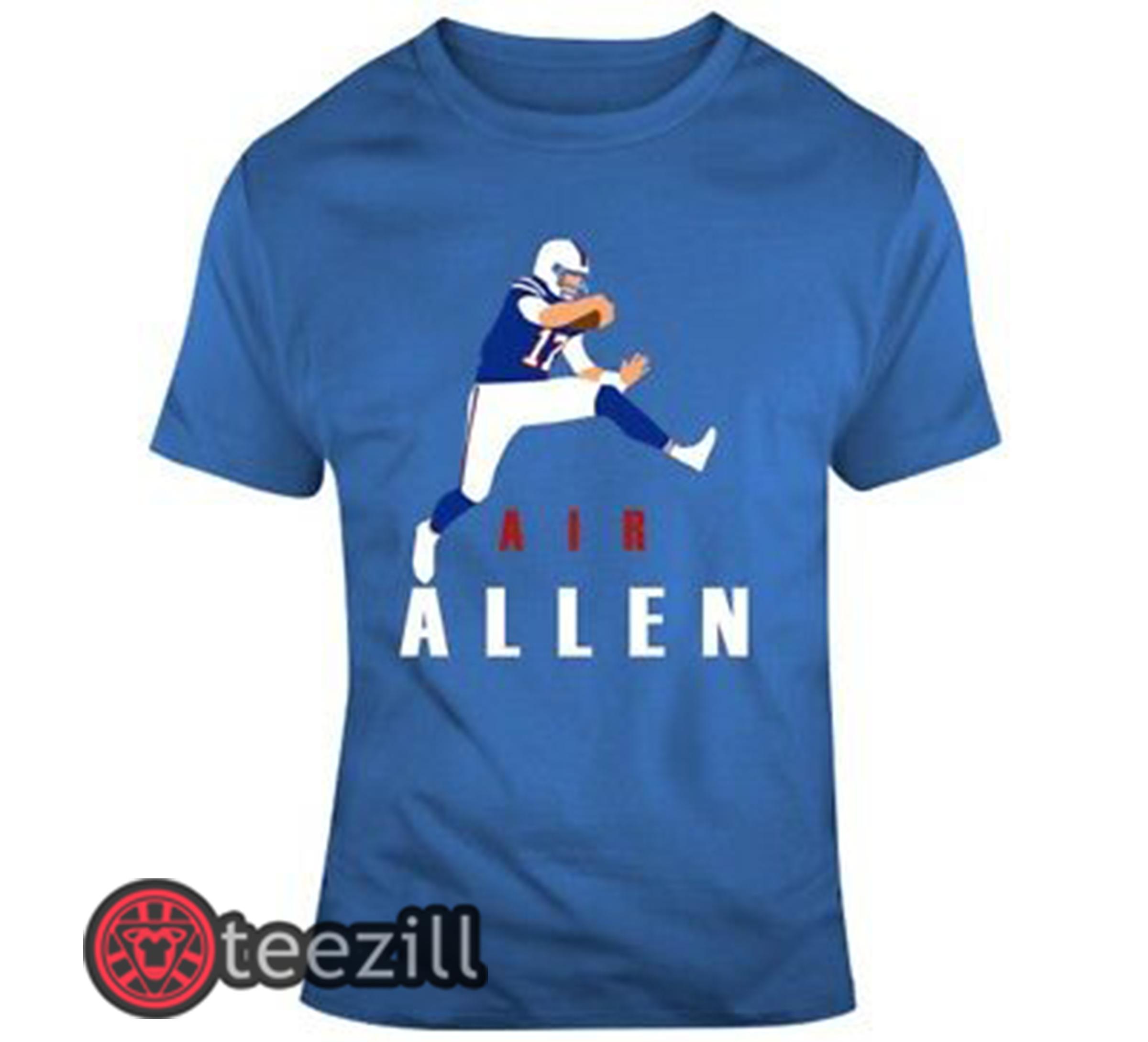 Air Allen Buffalo Bills Shirt Josh Allen Buffalo Bills Logo T Shirt Teezill
