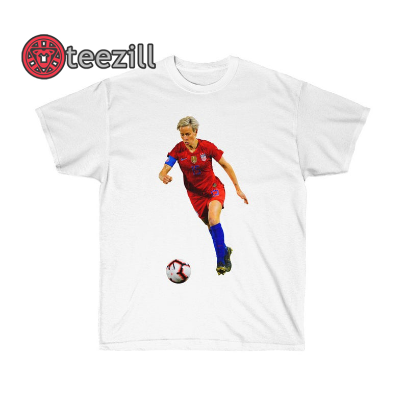 reputable site dd0fc 75a62 Megan Rapinoe T Shirt, Women USA Soccer Team 2019 Shirt