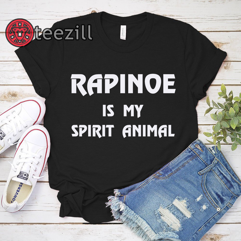 Clickbuypro Unisex Tshirt Rapinoe Is My Spirit Animal T-shirt United States Womens National Soccer Team T-shirts Hoodie Navy 3xl