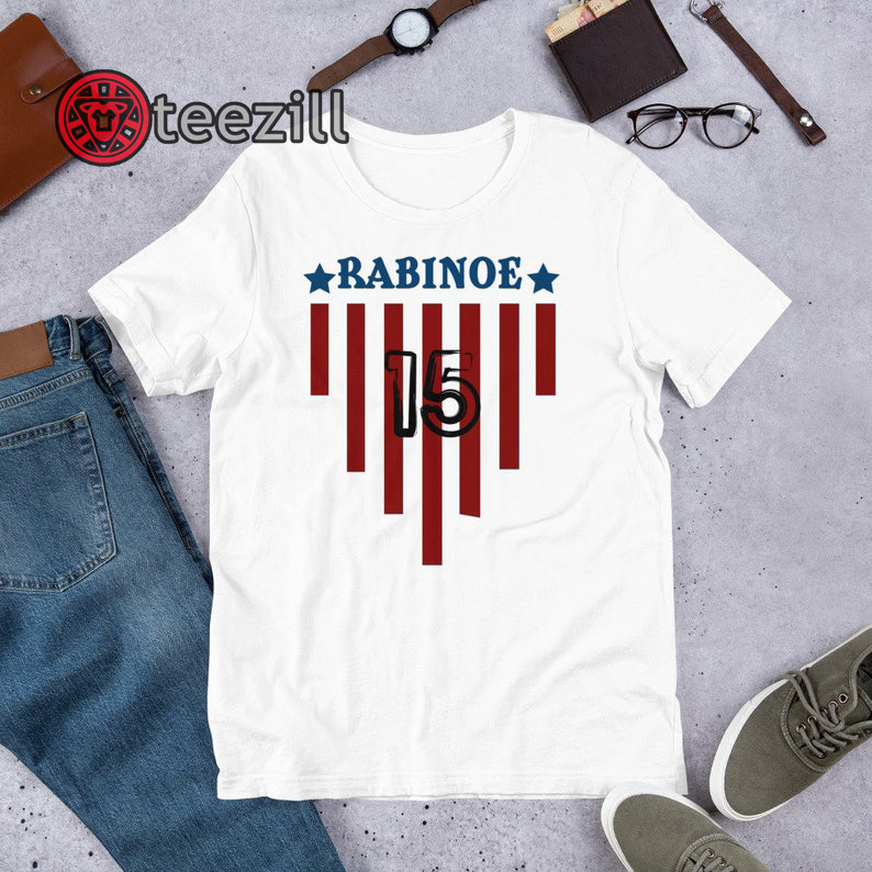 buy popular 4f66e 77748 USWNT Player - Custom Apparel soccer, world cup tshirt Megan Rapinoe T-Shirt