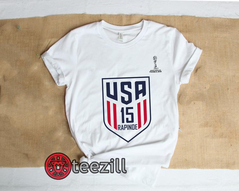 the latest fb5c7 b437a United States Women's National Soccer Team Shirt, Alex Morgan, Julie Ertz,  Tobin Heath, Megan Rapinoe, Mallory Pugh. Unisex T-Shirt