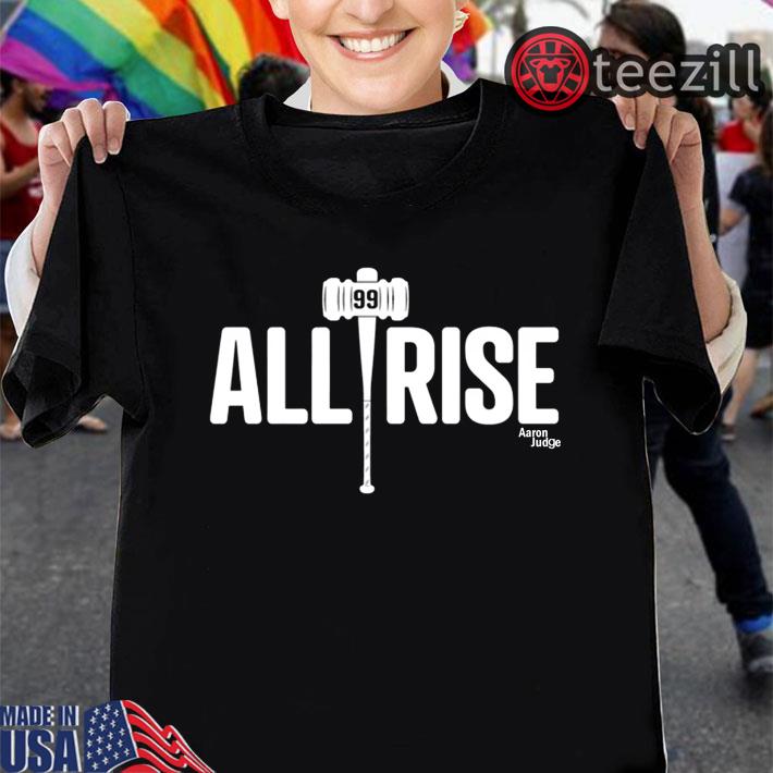 brand new ef73d fd638 All Rise Shirt Aaron Judge Tshirt
