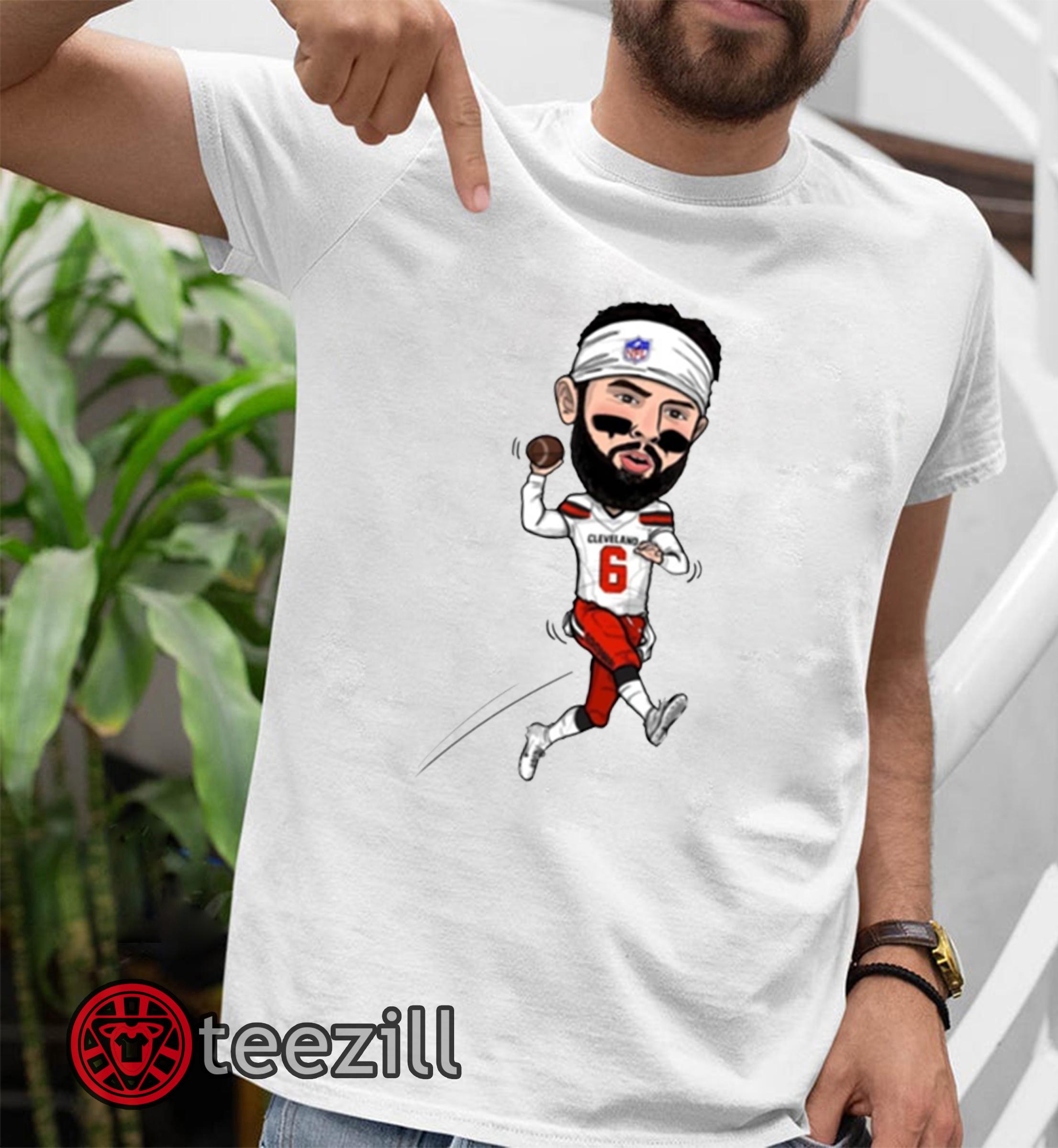 newest 2dd3d cf427 Baker Mayfield Cleveland Browns Shirt