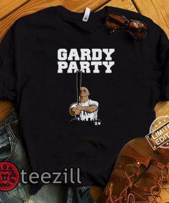 best service 2883c 86d87 Brett Gardner Shirt - Gardy Party, New York Bang Gang - Breakin Shirts