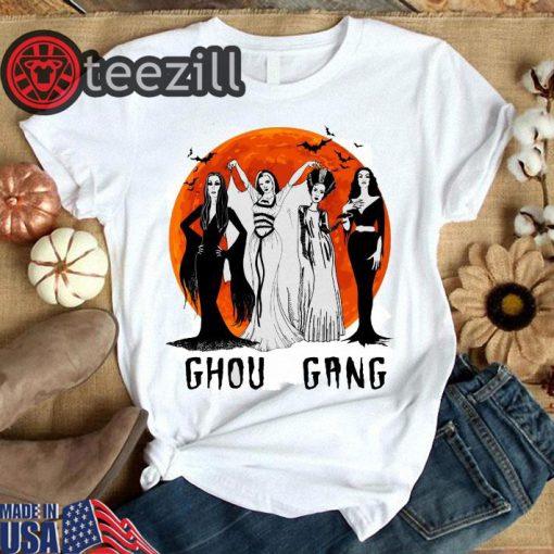 Ghoul Gang Sunset Halloween Shirt