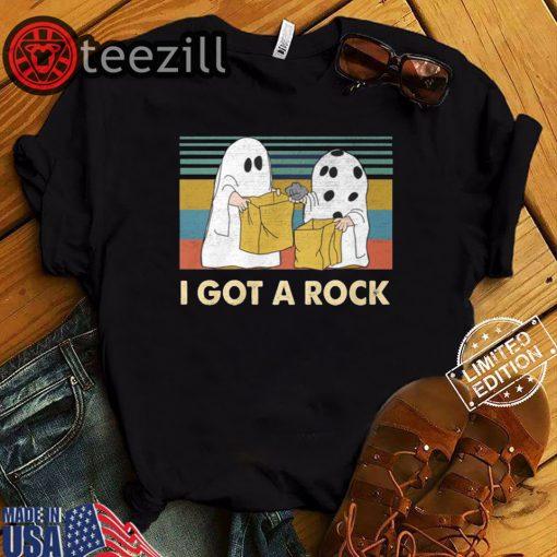 Halloween Costume Shirt I Got A Rock Shirt