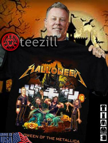 Halloween of The Metallica Style Shirt Limited Edition Tshirt