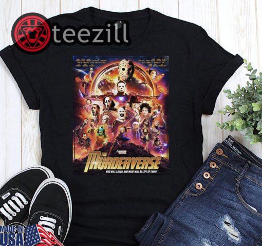 Marvel avengers infinity war the murderverse halloween shirt