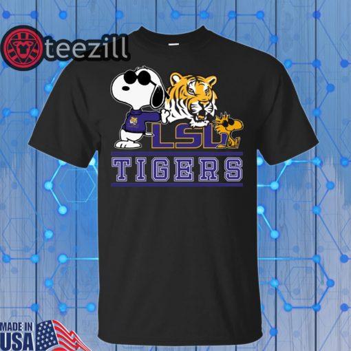 Snoopy LSU Tigers Gift Shirt
