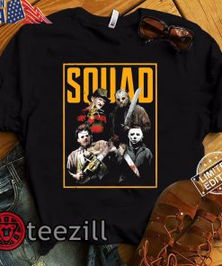 Halloween Squad Shirt, Horror Squad Shirt, Slasher Squad, Slasher Shirts, Jason