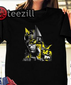 Batman 80 Years Bat Panels Dark Halloween Shirt