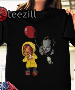 Chucky and Pennywise Halloween T Shirt