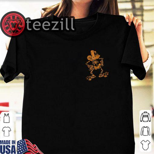 Halloween 2019 Mickey Mouse Skeleton Shirt