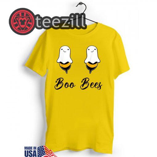 Halloween Boo Bees Couples Shirt