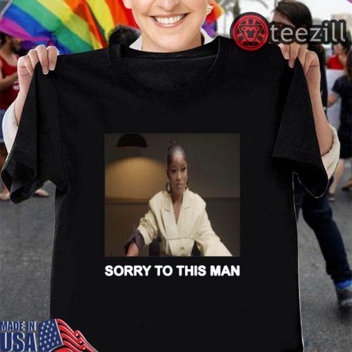Keke Palmer Sorry To This Man Black Shirt