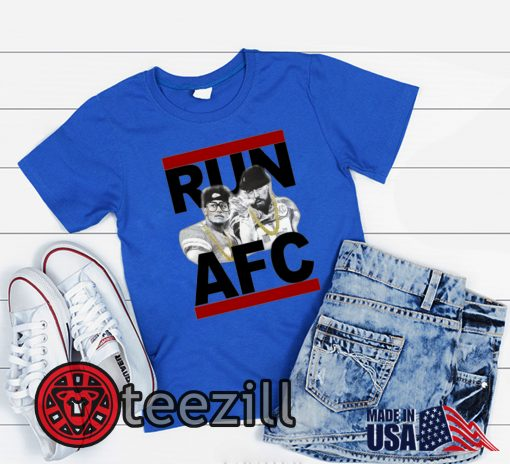 RUN AFC BLUE SHIRT